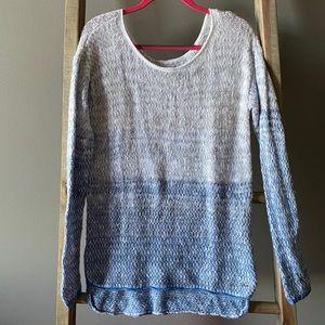 A&F Blue Ombré Sweater